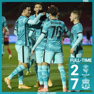 Lincoln vs Liverpool 2-7 Highlights (DOWNLOAD VIDEO)