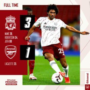 VIDEO: Liverpool Vs Arsenal 3-1 - Goals Highlights [DOWNLOAD]