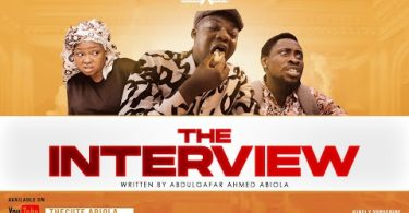 The Cute Abiola Ft. Trikytee & Funmi Awelewa - The Interview (Comedy Video)