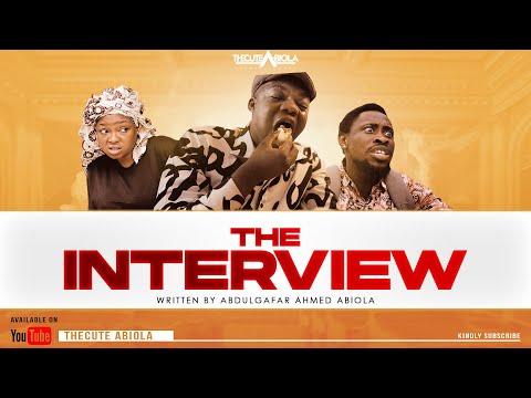 The Cute Abiola Ft. Trikytee & Funmi Awelewa - The Interview (Comedy Video)