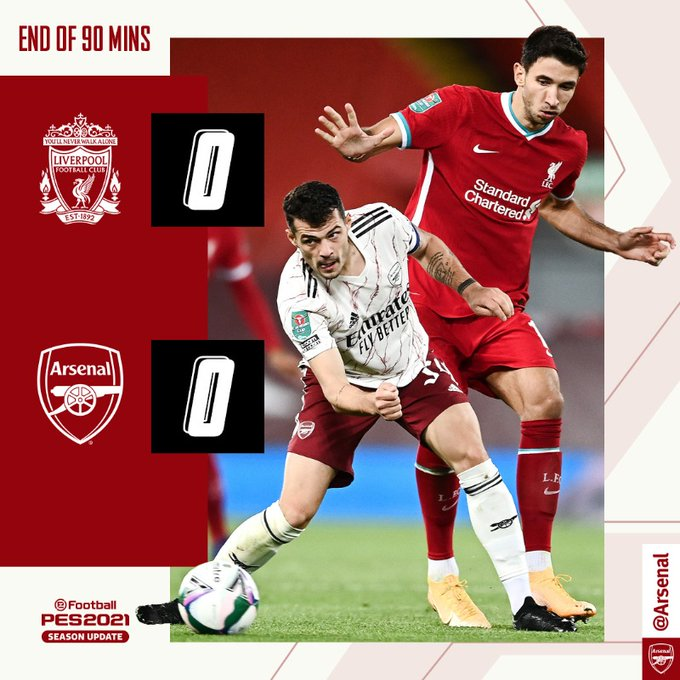 VIDEO: Liverpool Vs Arsenal 0-0 (Pen 4-5) - Goals Highlights Download
