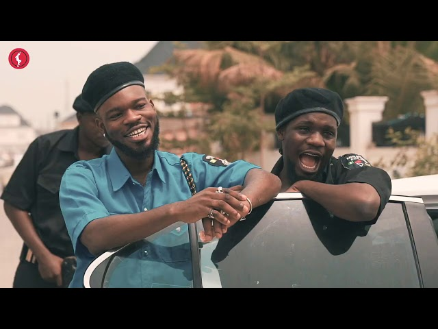 Broda Shaggi And Officer Woos Caught By The Real Officers(Comedy Video)