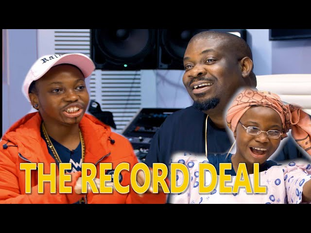 Taaooma Ft. Don Jazzy - The Record Deal (Comedy Video)