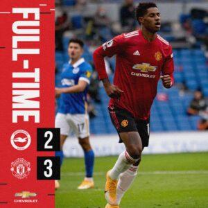 Download VIDEO: Brighton vs Manchester United 2-3 - Goals Highlights